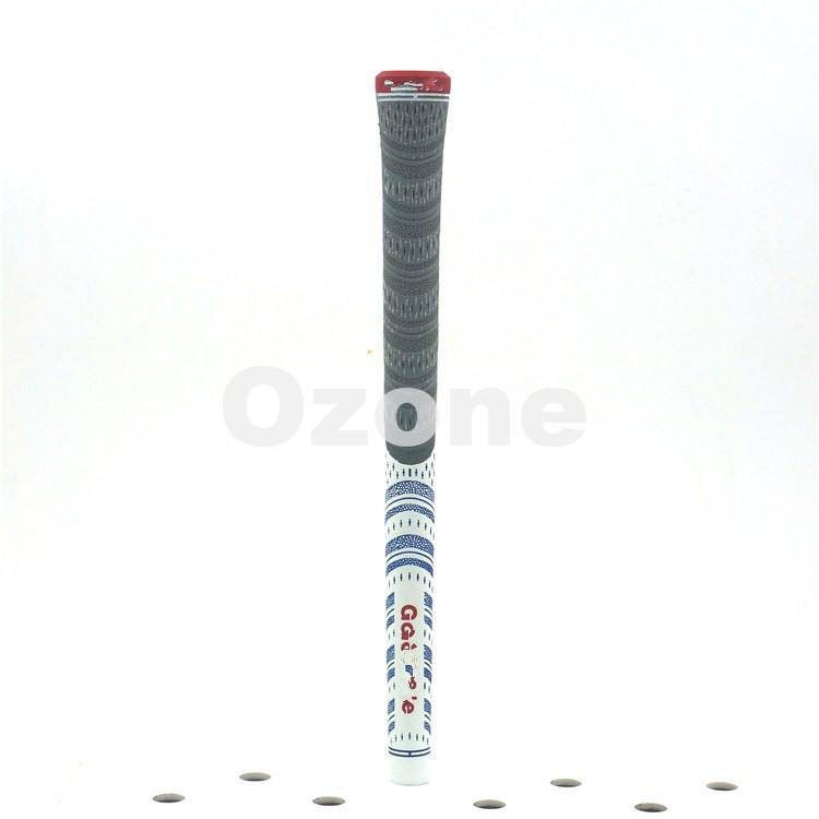 20 pcs iron set grip MCC MultiCompound Plantinum / white driver grips Softer Feel Larger Lower Hand NDMC golf iron club grips(China (Mainland))