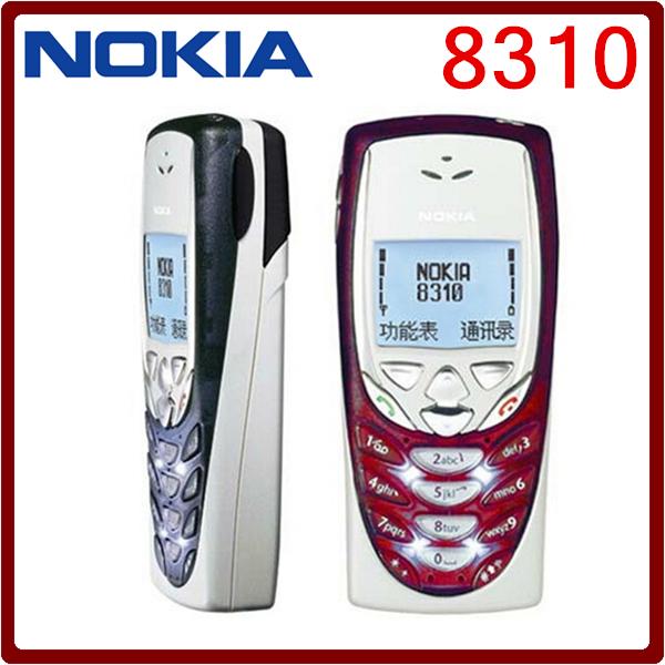 8310 Original Nokia 8310 2G GSM Unlocked Cheap Refurbished Celluar Phone Free Shipping(China (Mainland))