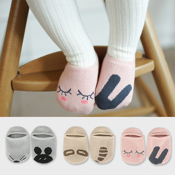 3 Pairs / Lot Baby Girls Boy's Socks 2015 New Arrival Cute Printed Cartoon Character Novelty Baby's Sock For Unisex NWT056(China (Mainland))