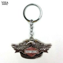 Motorcycle Key Chain Keychain High Quality Keyring Key ring Silver Plated Keychains For Harley Davidson(China (Mainland))
