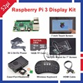 Raspberry Pi 3 16GB Starter Display Kit with 7 inch Touch Screen Acrylic Mount Heat Sinks
