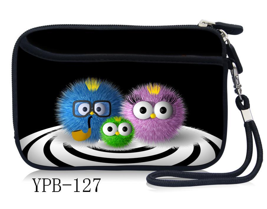 """Fuzzy Ball 2.5"""" Neoprene Case Bag Cover For WD My Passport Ultra Slim Portable Hard Drive(China (Mainland))"""
