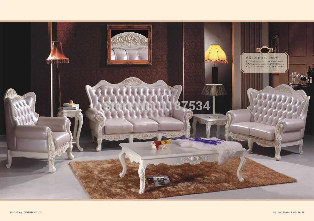 K2302 living room furniture european style sofa sets high for Living style furniture