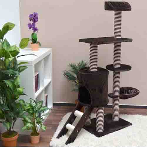 2015 new design cats Furniture house Rascador Gato Scratching Posts Climbing Tree For cats(China (Mainland))