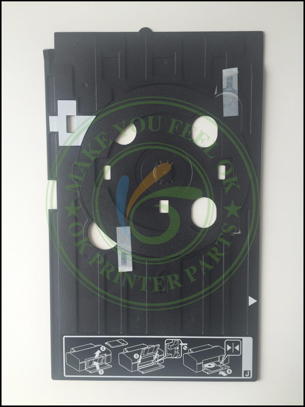 ORIGINAL CD tray DVD VCD tray CD holder Print Tray CD Disc Bracket for Epson R260 R270 R390 R290 R330 T50 T60 A50 P50 L800 L801<br><br>Aliexpress