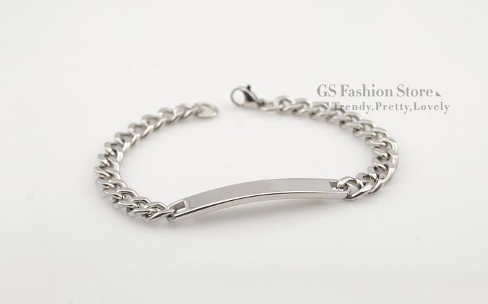 Из нержавеющей стали мода девочки ID браслет для женщин ювелирных изделий цепи 2015 новый прохладный стиль