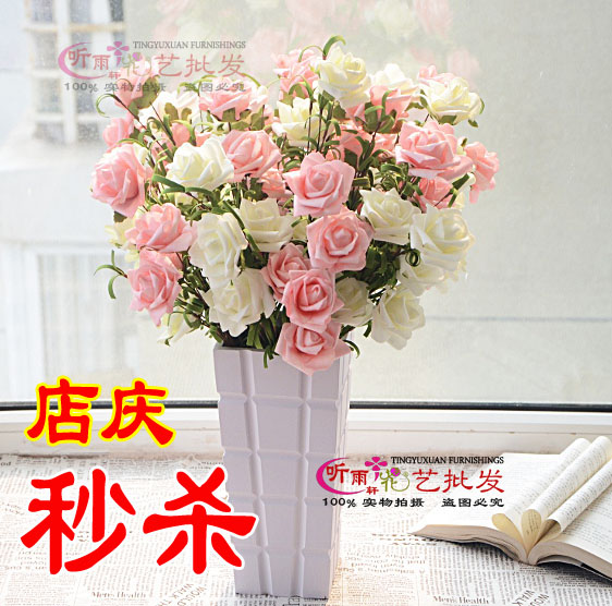 flower decoration silk flower dining table flowers artificial flower