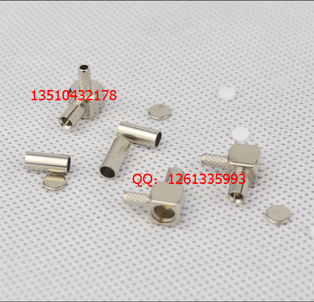 Free shipping 10pcs / lot TS-9 all-copper access test head RG316 cable TS-9 male head bent in 100% good()