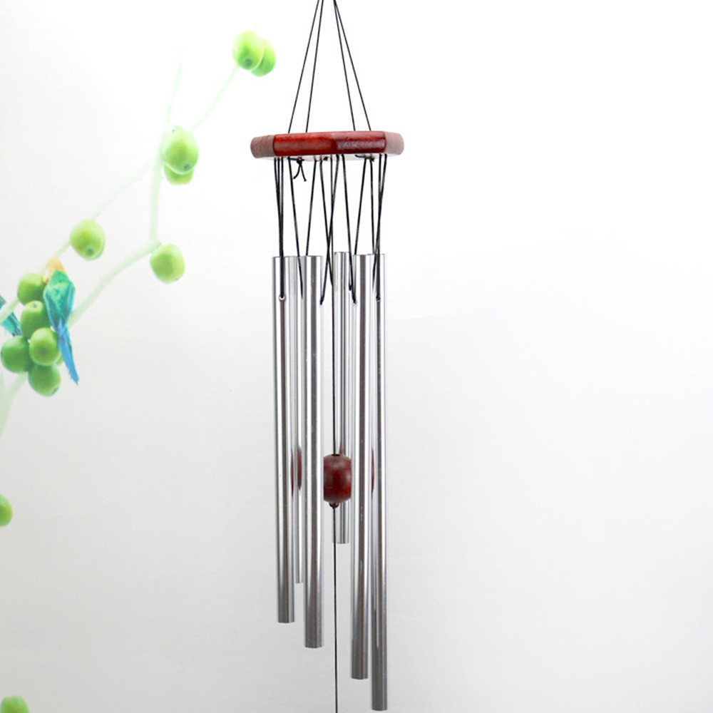 1x Aluminum Wind Chimes For Home Garden Yard Patio Decoration Ornament