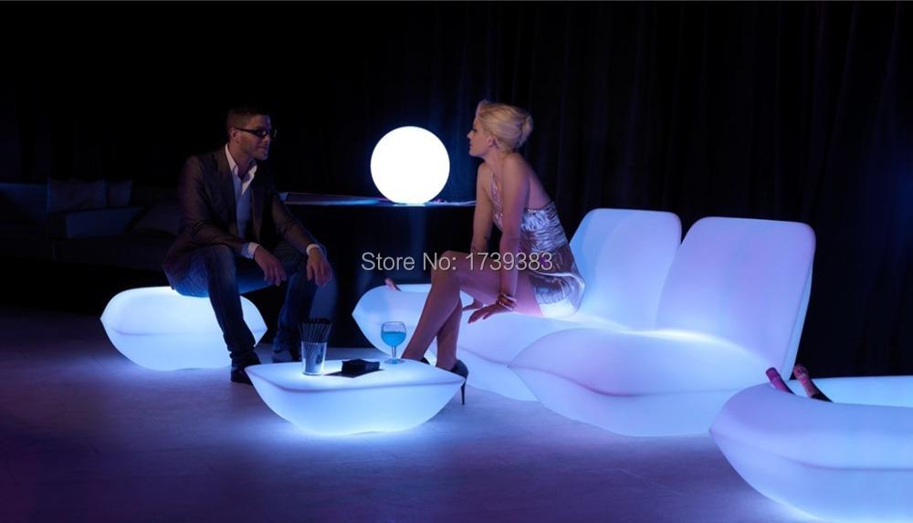 Waterproof Vondom | Pillow Lounge Chair LED luminous furniture sofa decorating your living room,pool, garden,bar,terrace etc(China (Mainland))