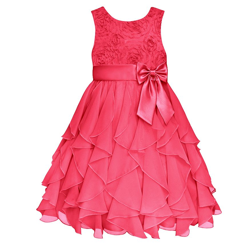 Girls Dresses Summer Tutu Princess Baby Flower Costume chiffon Tulle Baby Casual Party Dress For 3-10 Yrs Kids Dresses For Girls(China (Mainland))