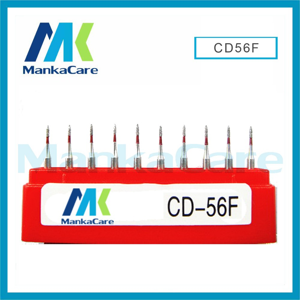 CD - Dental Lab Assorted Diamond Burs Millers Tooth Drill Jewelers/High abrasive/High speed handpiece dental bur emery bur(China (Mainland))