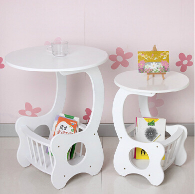 small table table sofa side tables bedside phone a few small round table corner living room magazine rack(China (Mainland))