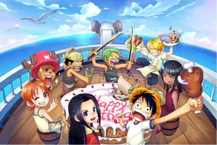 One Piece The wooden puzzle 1000 pieces ersion paper jigsaw puzzle white card adult children's educational toys(China (Mainland))
