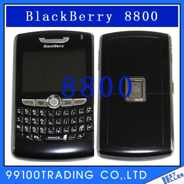 Unlocked BlackBerry 8800 Cell Phone Bluetooth free shipping Refurbished
