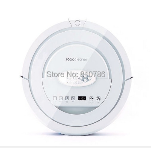 (56% off Discount,only 20pcs on Sale) Top Grade Best Quality 100% Feedback Robotic Vacuum Cleaner,with Five Walking Model(China (Mainland))