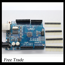 UNO R3 MEGA328P For  Arduino without  USB Cable Free shipping(China (Mainland))