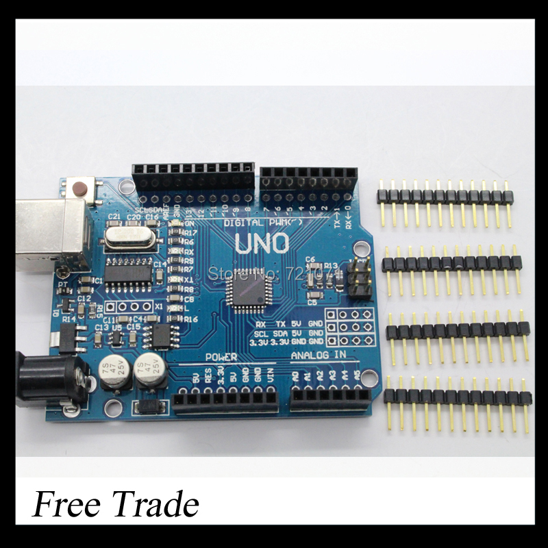 UNO R3 MEGA328P For Arduino without USB Cable(China (Mainland))