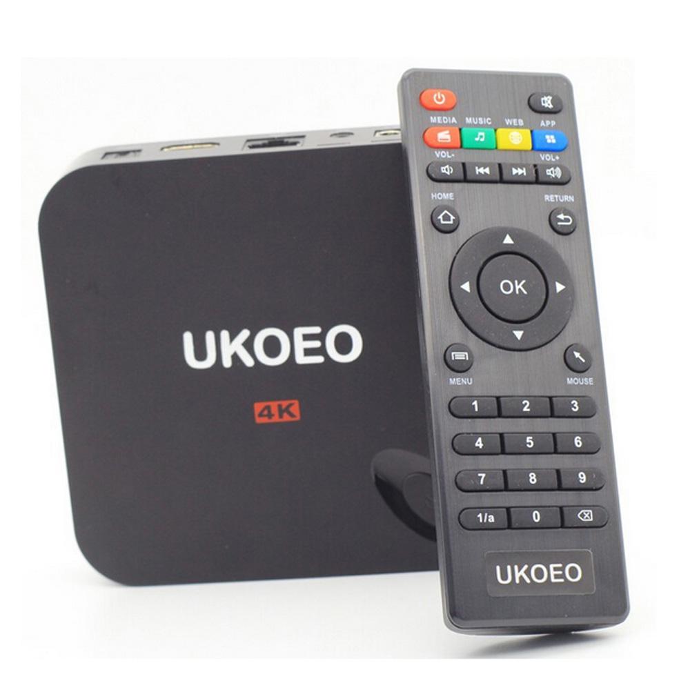 UKOEO Youkai XBMC TV Box 1G/8G Amlogic S802 Quad Core 4 Cortex A9 Android 4.4 Bluetooth TV Box 4K*2K HDMI Google Smart TV Box(China (Mainland))