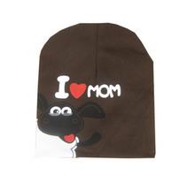 2015 Fashion Baby Boy&Girls Hat Cotton Warm Winter Autumn Cap Kids Hats Beanies Pentagram sheep I love papa I love mama baby hat(China (Mainland))