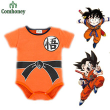 Dragon Ball Baby Bodysuit Newborn Baby Boy Clothes Customes Toddler Jumpsuit Bebe Halloween Costumes For Baby Boy Girl Clothing(China (Mainland))