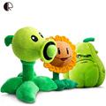 Kids Plush Toys Plants vs Zombies Pea Shooter Sunflower Squash Plush Toy Doll Soft Plush Toy