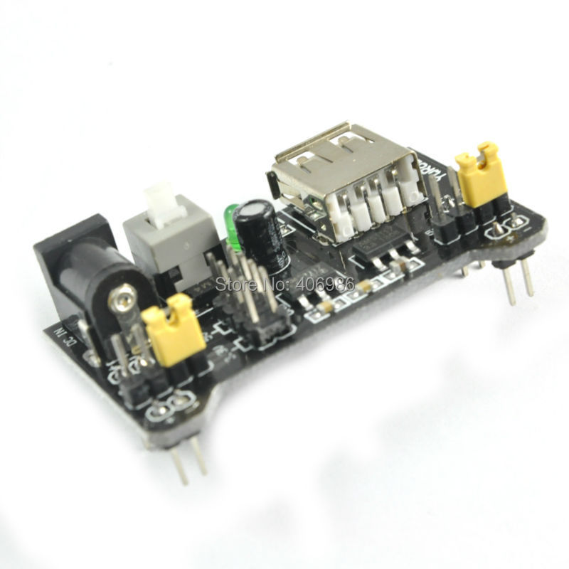 MB102 Breadboard Power Supply Module 3 3V 5V Solderless Bread Board DIY
