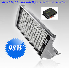 DC24V 98W LED street light with Intelligent Solar Controller for solar street lighting system(China (Mainland))