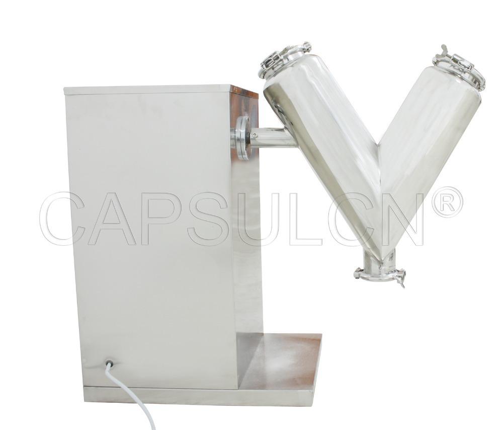 Mini Powder Mixer, Powder Mixing machine, Powder Blending Equipment V-14 (110V 60HZ)(Hong Kong)