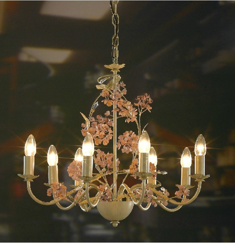 American village antique crystal chandeliers living room dining room european style garden - Contemporary dining room chandeliers styles ...
