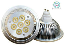 Buy Wholesale Factory Price Dimmable COB 7W LED AR111 light GU10 100-240Vac high lumens Bridgelux high power QR111 ES111 LED LAMP for $55.40 in AliExpress store