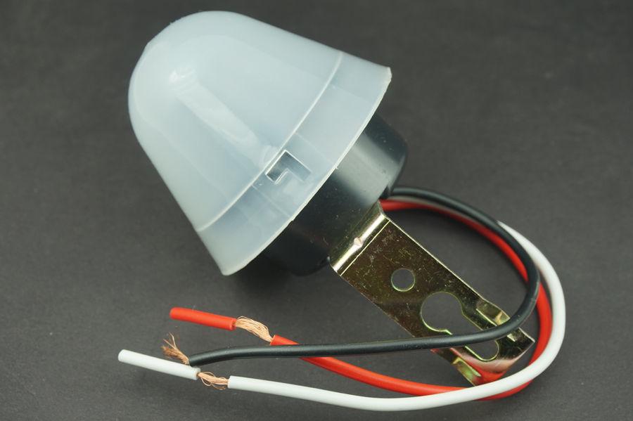 Adjustable / Non-adjustable photoreceptor Light Sensor Auto Control Switch Street(China (Mainland))
