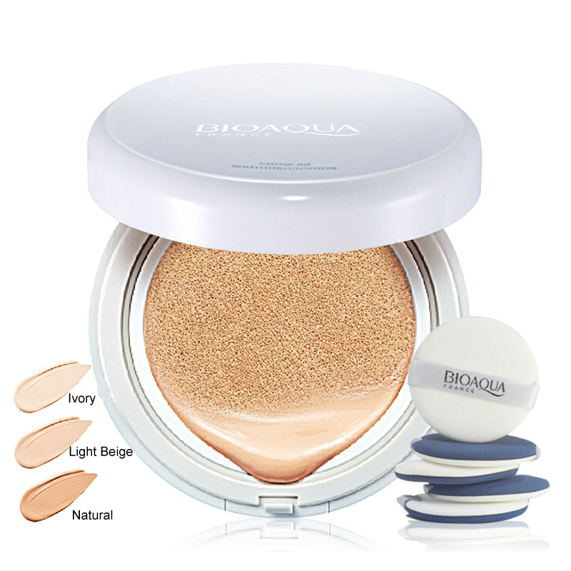 Air Cushion BB Cream Concealer Moisturizing Foundation Makeup Bare Strong Whitening Face Beauty Makeup Sunscreen Concealer