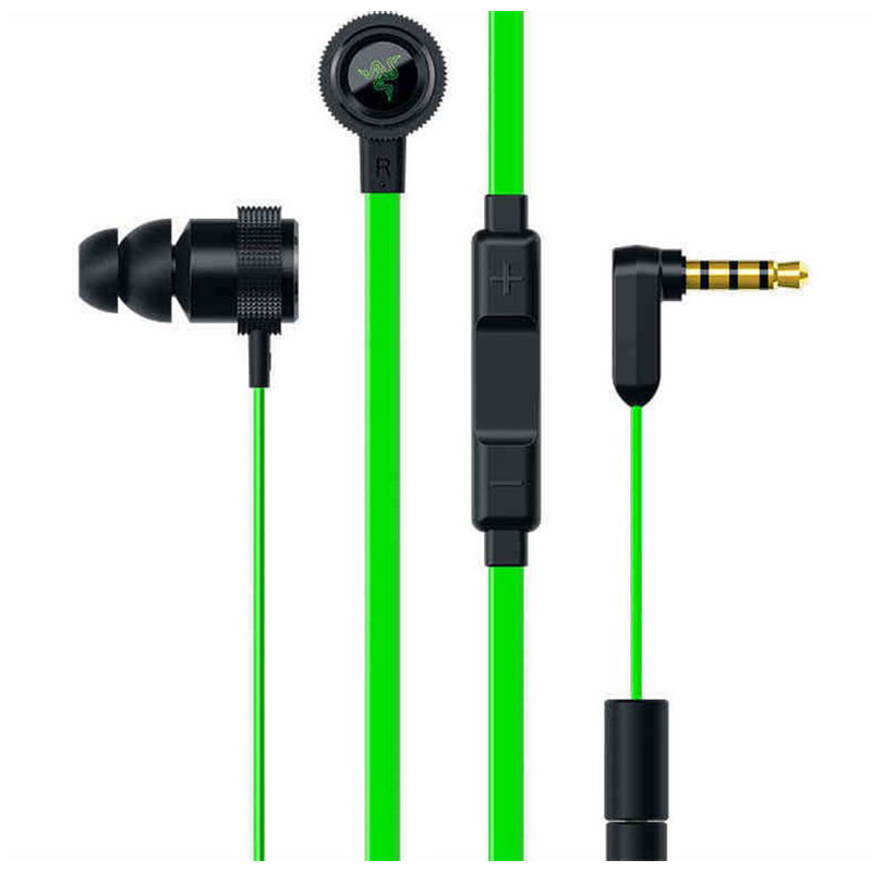 Original Razer Hammerhead V2 Pro Earphone With Microphone Noise Isolation In Ear Gaming Headsets Stereo Deep Bass For Phone PC(China (Mainland))