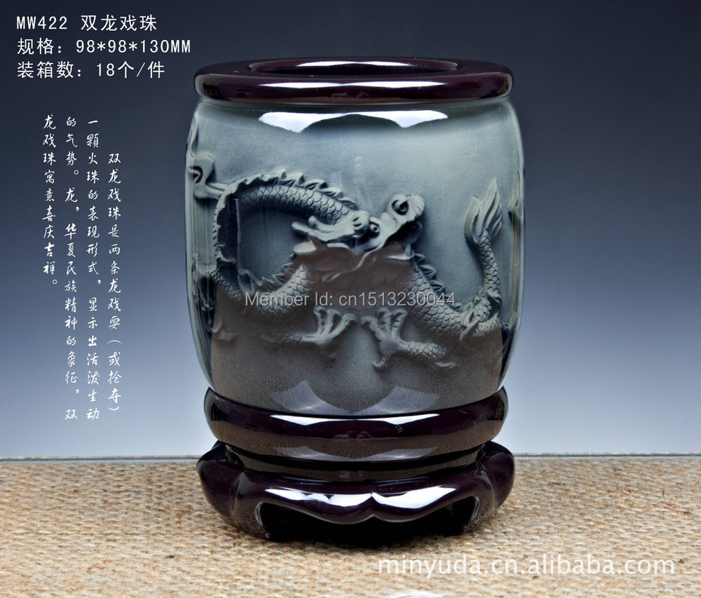 QianYi Square pen brand Vatan government meeting to order gift business gifts Dragons Zodiac(China (Mainland))