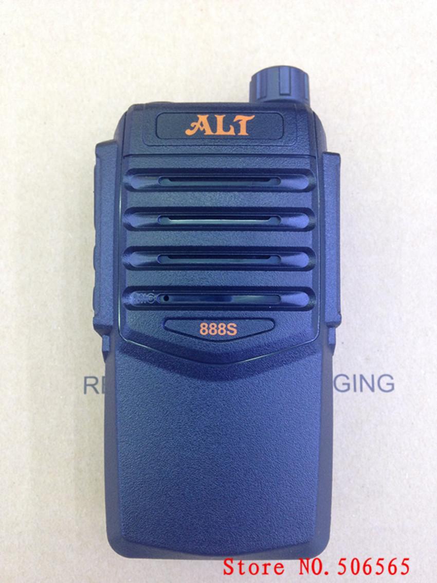 New ALT-888S walkie talkie 7W UHF400-470MHz two way radio 2200mah battery 5-10km dust-proof 2pcs/lot freeshipping(China (Mainland))