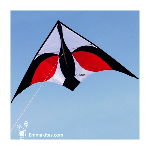 FREE SHIPPING 8.2 Ft Black Swan Delta Kite / High Quality Outdoors / Single Line / Toys / Kids Play / Easy to Fly<br><br>Aliexpress