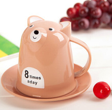 Creative home daily necessities small animal cup coffee cup quality gift package