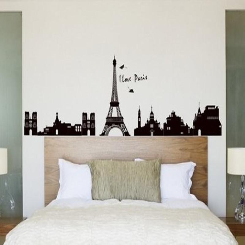 Compra paris room decor online al por mayor de china for Cuartos decorados de la torre eiffel