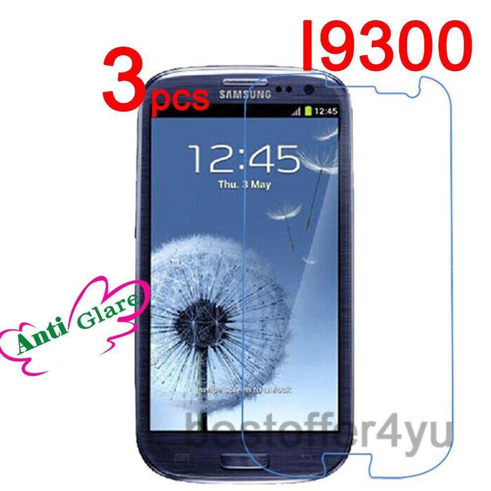 Matte Anti-glare Anti Glare i9300 Screen Protector Guard Film Samsung Galaxy S3 SIII Protective + cloth - Xinghai store
