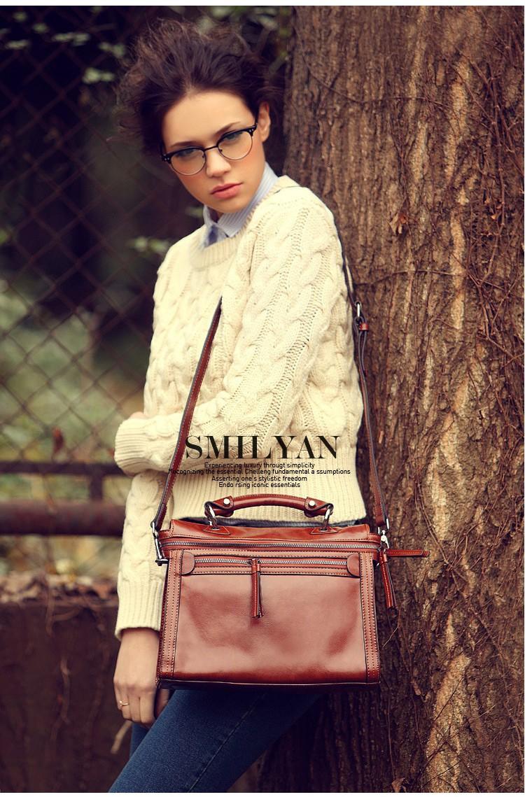 Smilyan Brand New Women Messenger Bags Fashion Shoulder Bag Vintage