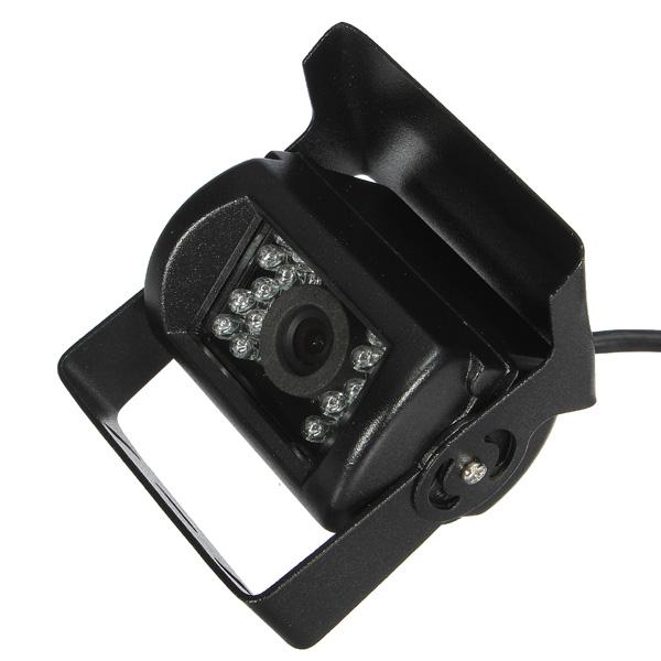 New 18 Night Vision IR LED Waterproof Anti-shock 120 Degrees Light Sensor CMOS Car Rear View Reverse Video Backup Parking Camera(China (Mainland))