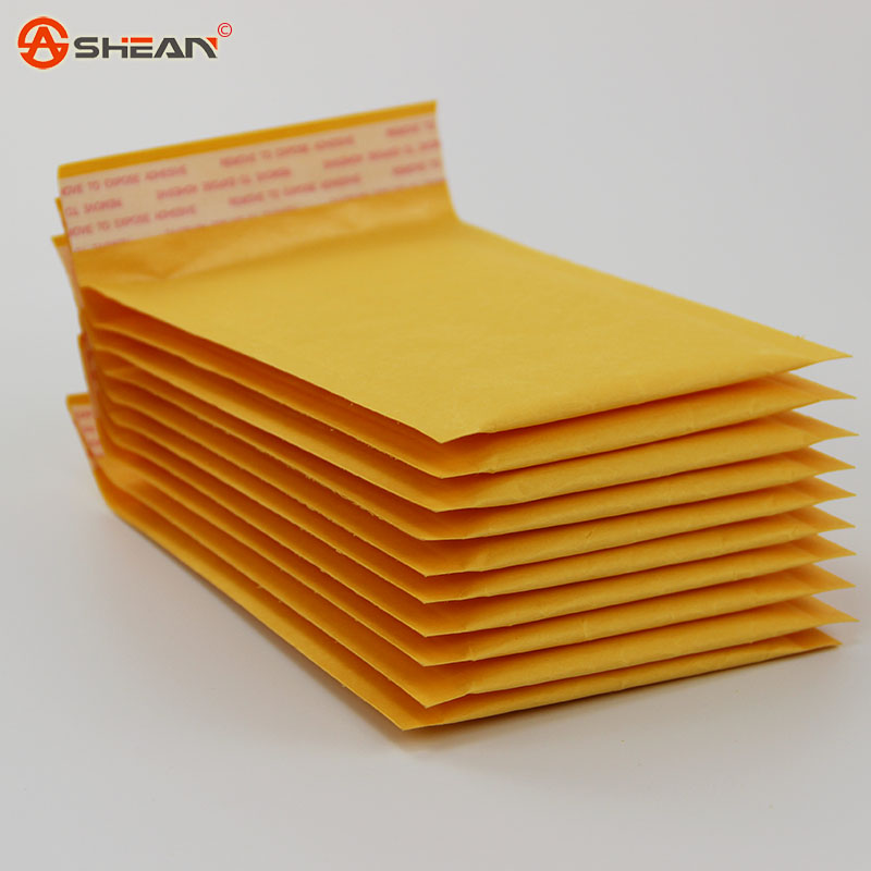 110*150mm Packaging Shipping Bubble Mailers Padded Envelopes Bags Kraft Bubble Mailing Envelope Bags 5pcs/lot(China (Mainland))