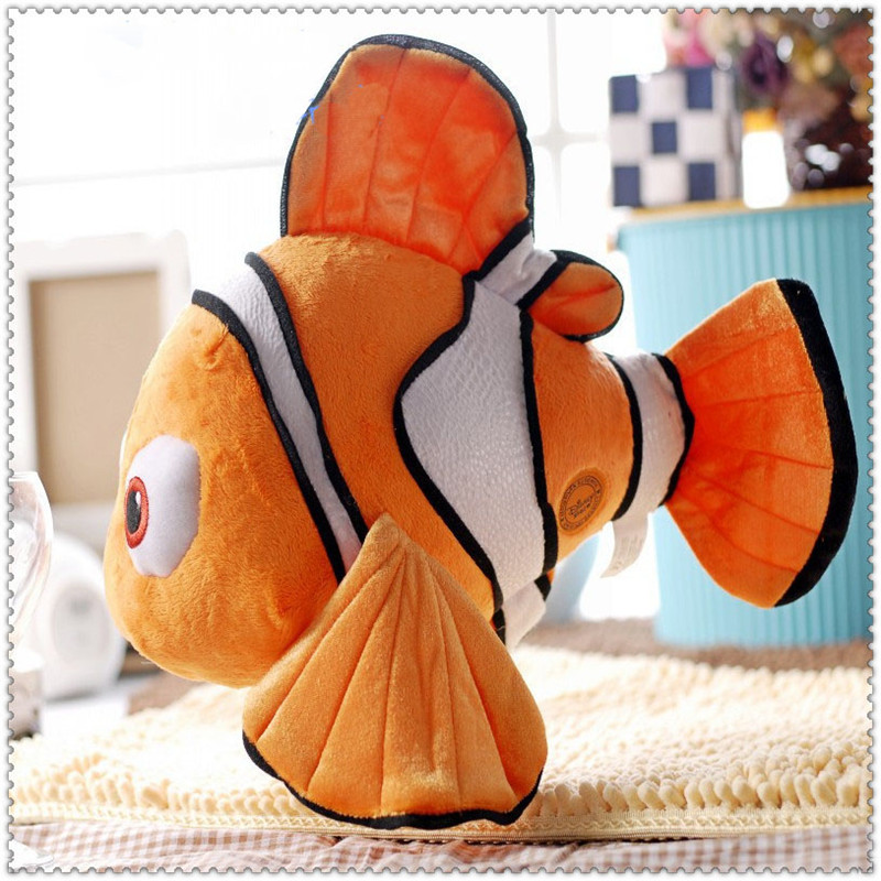 New 2016 Finding Nemo Plush Toys 20 cm Fish Animal Toy For Children Birthday Gift Kid Anime Doll Toy hot sale(China (Mainland))