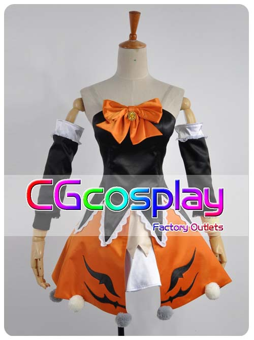 Free Shipping Cosplay Costume Vocaloid Miku Halloween Cosplay New in Stock Retail / Wholesale Halloween Christmas PartyОдежда и ак�е��уары<br><br><br>Aliexpress