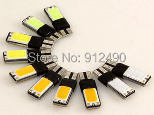 2X T10 LED 194 168 W5W COB Interior Bulb Light Parking Backup Brake Lamps Canbus No