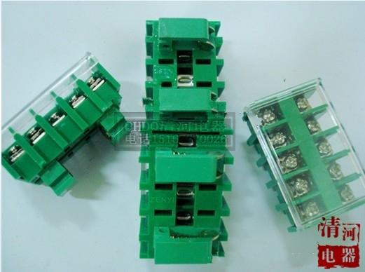 JF5-1.5 / 5 plate screw terminal wiring board, JF5 combination terminal terminal blocks(China (Mainland))