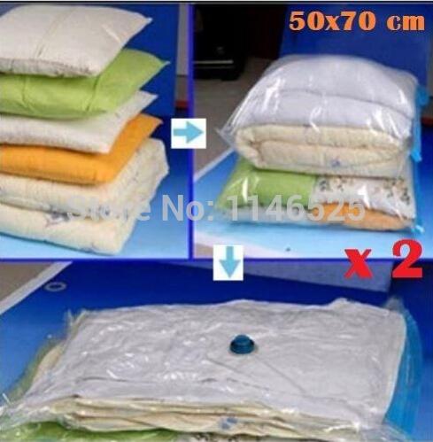 HOT SMALL Space Saver Bags Storage Bag Vacuum Seal Organizer free shipping(China (Mainland))