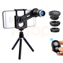 Buy 2017 8X Lens Zoom Telephoto Lens Telescope iPhone 6 7 Xiaomi Huawei Clips Tripod Microscope Macro Wide Angle Fisheye Lentes for $13.59 in AliExpress store