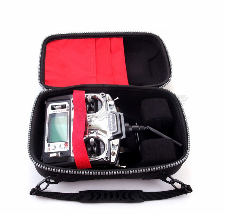 Freeshipping Flysky FS-T6 2.4GHz 6Channel Transmitter Radio Mode 2 For RC Heli + Bag Case(China (Mainland))